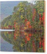 Mt. Chocorua Reflections II Wood Print