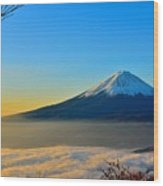 Mt. Fugi Wood Print