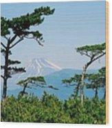 Mt. Fuji ... Wood Print