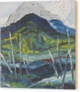 Mt Gosford Wood Print