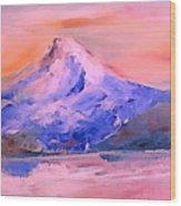 Mt Hood 04 Wood Print