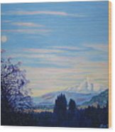 Mt Hood A View From Gresham Wood Print