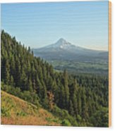 Mt Hood In The Distance Wood Print
