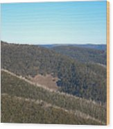 Mt Hotham In Early April Wood Print