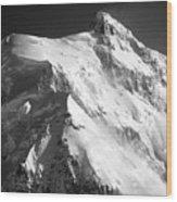 Mt Hunter Summit Wood Print