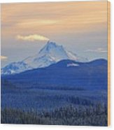 Mt. Jefferson 3 Wood Print
