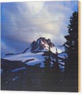 Mt. Jefferson Photograph Wood Print