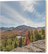 Mt. Joe, Adirondacks  Wood Print