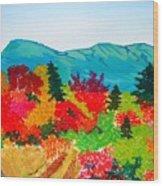 Mt. Katahdin Maine Wood Print