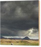Mt Keilir, Iceland Wood Print