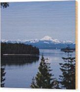 Mt Lassen 2 Wood Print