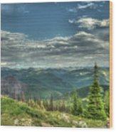 Mt. Marston Scenic View Wood Print