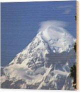 Mt. Mckinley From 60 Miles Away Wood Print