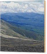 Mt Monroe Panorama Wood Print