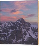 Mt. Of The Holy Cross Vertical Wood Print