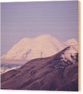 Mt Rainer From The Wenas Valley  Wood Print