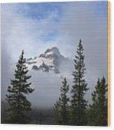 Mt. Rainer Wood Print