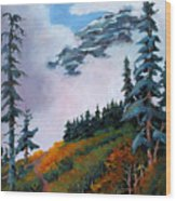 Mt. Rainier 4 Wood Print