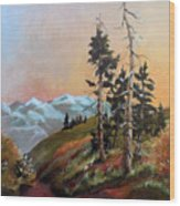 Mt. Rainier 6 Wood Print