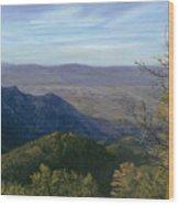 Mt. Rison Wood Print