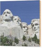 Mt. Rushmore Wood Print