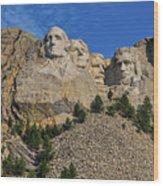 Mount Rushmore-2 Wood Print