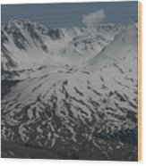 Mt. Saint Helens Wood Print