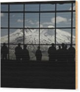 Mt. Saint Helens..an Active Valcano Wood Print