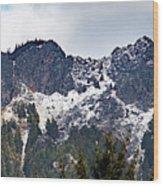 Mt. Si South View Wood Print