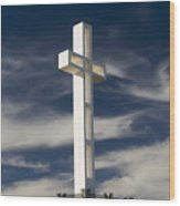 Mt. Soledad Veterans Memorial Wood Print
