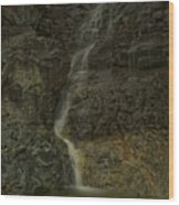 Mt St Benidict Waterfall Wood Print