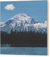 Mt. St. Helens 1975 Wood Print