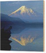 1m4907-h-mt. St. Helens Reflect H  Wood Print
