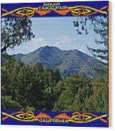 Mt Tamalpais Framed 2 Wood Print