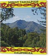 Mt Tamalpais Framed 4 Wood Print
