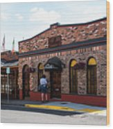 Mt Vernon Mail Wood Print