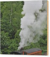 Mt Washington Cog Railroad Wood Print