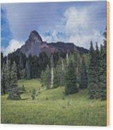 Mt. Washington Wood Print