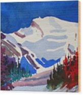 Mt. Wilson Wood Print