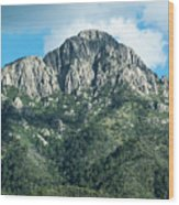 Mt. Wrightson Summit Wood Print