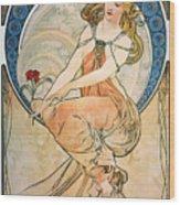 Mucha: Poster, 1898 Wood Print