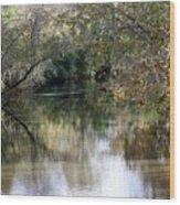 Muckalee Creek Wood Print