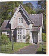 Muckross Cottage Killarney Ireland Wood Print