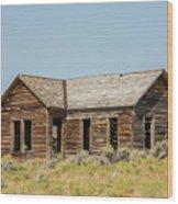 Muddy Creek House Wood Print