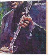 Muddy Waters 4 Wood Print