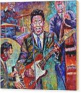 Muddy Waters And His Band Wood Print