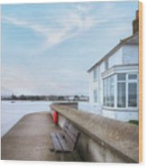 Mudeford - England Wood Print