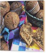 Muffins Wood Print