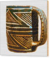 Mug Of The Anasazi Wood Print