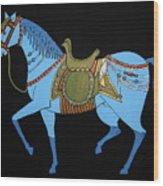 Mughal Horse Wood Print